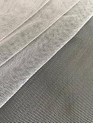 cheap -Tulle Solid Pleated 150 cm width fabric for Special occasions sold by the Meter