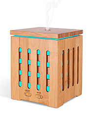 Недорогие -квадратная бамбуковая машина для ароматерапии ультразвуковая домашняя характерная машина для ароматерапии