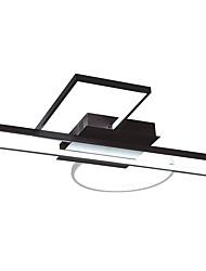 cheap -JSGYlights 3-Light 57 cm New Design / Cool Flush Mount Lights Metal Silica gel Geometrical Painted Finishes LED / Modern 110-120V / 220-240V