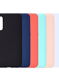 cheap -Phone Case For Samsung Galaxy Back Cover A6 (2018) A6+ (2018) A3 A5 A7(2017) A8 2018 A8+ 2018 A7 Galaxy A9(2018) A10 Shockproof Frosted Solid Color Soft TPU
