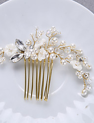 cheap -Manual Hair Accessories Alloy Wigs Accessories Women's 1 pcs pcs N / A cm Party / Daily Wear / Outdoor Ordinary / Headpieces / Modern Contemporary Party / Easy to Carry / Women