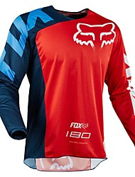 cheap -New fox head motorcycle cross-country long-sleeved shirt quick-drying T-shirt motorcycle mountain bike downhill service quick-drying vest