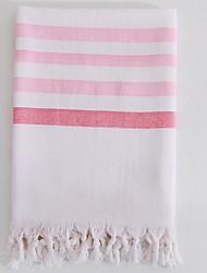 cheap -Superior Quality Bath Towel, Lines / Waves Poly / Cotton Bathroom 1 pcs