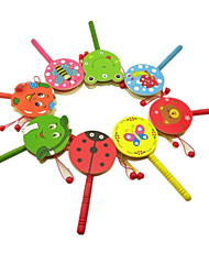 cheap -Tambourine Music Dancing Adorable Wooden Rope Unisex Baby Graduation Gifts Toy Gift