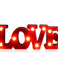 cheap -Romantic Small White LOVE Marquee Sign Night Lights For Home Wedding Decoration Valentine Gift