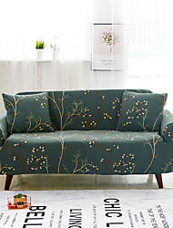 cheap -Sofa Cover High Stretch Tree Printed Soft Elastic Polyester Slipcovers