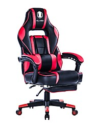 cheap -KILLABEE Reclining Memory Foam Racing Gaming Chair - Ergonomic High-Back Racing Computer Desk Office Chair with Retractable Footrest and Adjustable Lumbar...