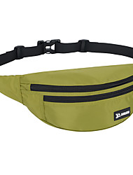 cheap -Hiking Waist Bag Waterproof Lightweight Breathable Fast Dry Outdoor Hiking Cycling / Bike Running Oxford Cloth Green Blue Grey