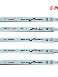 cheap -Reciprocating Saw Blades Set 6 24 TPI 5 pcs for DeWalt & Makita Cut Aluminum