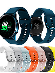 cheap -Watch Band for Samsung Galaxy Active Samsung Galaxy Sport Band Metal / Silicone Wrist Strap