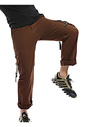 abordables -Homme Basique Grandes Tailles Chino Pantalon - Couleur Pleine Marron clair Vert Véronèse Kaki 34 36 38