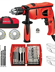 cheap -Toolman 28 pcs Electric Power Drill Driver with Drill Driver Bit Set HHS Safety