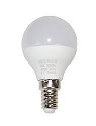 cheap -1pc 5 W LED Globe Bulbs 210-310 lm E14 6 LED Beads Warm White Cold White 85-265 V