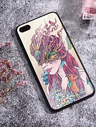 cheap -Case For iPhone X XS Max XR XS Back Case Soft Cover TPU Fashion Illustration style kangaroo girl Soft TPU for iPhone5 5s SE 6 6P 6S SP 7 7P 8 8P