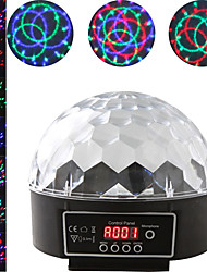 cheap -1 set LED Stage Light DMX512 Control Sound Control Colorful Magic Ball Rotating Light Bar DJ Light