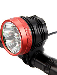cheap -LED Bike Light Front Bike Light Headlight Flashlight LED Mountain Bike MTB Bicycle Cycling Waterproof Super Brightest Portable Easy to Install Rechargeable Battery 18650 4800 lm Rechargeable