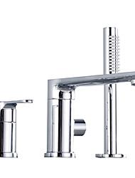 cheap -Shower Faucet Chrome Other Ceramic Valve Bath Shower Mixer Taps
