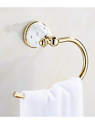 cheap -Towel Bar Creative Metal 1pc towel ring Wall Mounted