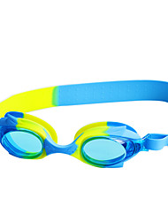 cheap -Swimming Goggles Waterproof Anti-Fog Adjustable Size Anti-UV For nearsightedness Prescription Silica Gel PC Pink Blacks Blues Pink Black Blue