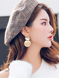 cheap -Women's Earrings Classic Ball Artistic Trendy Fashion Modern Stainless Steel Earrings Jewelry Gold / Silver For Gift Daily Street Holiday Festival 1 Pair
