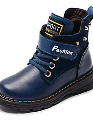 cheap -Boys' Comfort / Snow Boots Leather Boots Toddler(9m-4ys) / Little Kids(4-7ys) / Big Kids(7years +) Black / Yellow / Blue Winter / Mid-Calf Boots