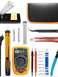 cheap -60W Electric Soldering Iron Toolkit High Temperature Resistant Welding Tool Welding Pen Maintenance Electrical Appliances Temperature Adjustable Soldering Iron