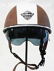 cheap -Half Helmet Adults Unisex Motorcycle Helmet  Easy dressing / Ultra Light (UL)