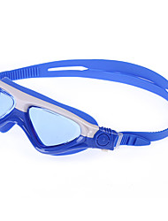 cheap -Swimming Goggles Waterproof Lightweight Anti-Fog UV Protection Mirrored Plated For Kid's Polycarbonate PC Others Blue