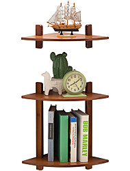 cheap -Bamboo European Magazine Racks Living Room