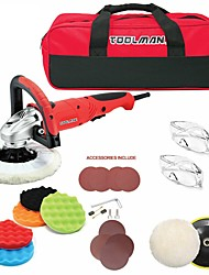cheap -Toolman 22pcs Electric Polisher Sander 7 7.5 Amp with Hook and Loop