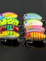 cheap -1 pcs Fishing Lures Hard Bait Easy to Carry Small Light and Convenient Sinking Bass Trout Pike Bait Casting Carp Fishing Bass Fishing Carbon Steel Metal PP (Polypropylene) / Lure Fishing