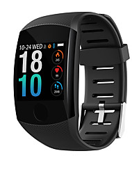 cheap -Q11 Smart Watch BT Fitness Tracker Support Notify & Heart Rate Monitor Curved-screen Smartwatch for Android Mobiles & IPhone