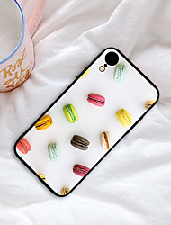 cheap -Case For iPhone XS Max XR XS X Back Case Soft Cover TPU Fashion style delicious snacks  Soft TPU for iPhone 8 Plus 7 Plus 7 6 Plus 6 8