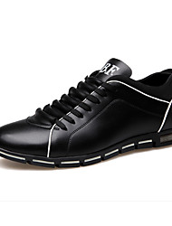 cheap -Men's Comfort Shoes Leather Spring & Summer / Fall & Winter Sneakers Black / Brown / Yellow / Party & Evening / Party & Evening