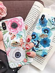 Недорогие -чехол для яблока iphone xr / iphone xs max pattern / с подставкой на задней крышке цветочное мягкое тпу для iphone 6 6 плюс 6s 6s плюс 7 8 7 плюс 8 плюс x xs