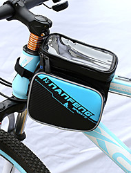 cheap -Cell Phone Bag Bike Frame Bag Top Tube 6 inch Cycling for Other Similar Size Phones Ginger Black / Red Blue / Black