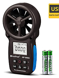 cheap -HoldPeak HP-866A Portable Wind Speed Air Volume Meter Anemometer USB/Handheld with Data Logger Feature and Carry Bag 866A