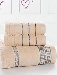 cheap -Superior Quality Bath Towel, Striped Pure Cotton 1 pcs