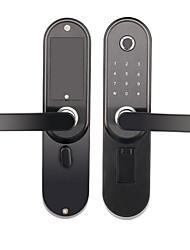 cheap -RX0815 Aluminium alloy Password lock / lock / Fingerprint Lock Smart Home Security System Fingerprint unlocking / Password unlocking / APP unlocking Home / Office Security Door (Unlocking Mode