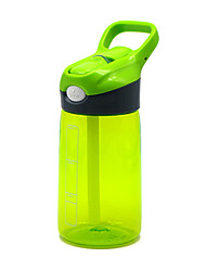cheap -Kettle Water Bottle 400 ml PP Durable for Camping / Hiking Traveling Green Orange Blue Pink