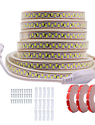 cheap -KWB 15M LED Light Strips Waterproof Tiktok Lights Shine Decor 220V-240V Flexible Rope Lights 5730 10mm 2700LEDs for Indoor Outdoor Ambient Commercial Lighting Decoration