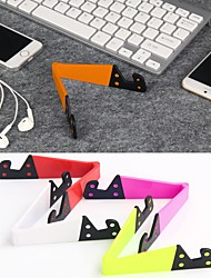cheap -Folding Niversal Mobile Phone Holder Colorful Cage Portable Folding V-shaped Desktop Stand