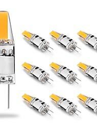 cheap -10pcs 2W LED Lights Bulb 12V AC/DC 210LM COB LED Lamp 20W Halogen Light Replacement White Warm White for Chandelier Range Hood Light