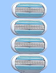 Недорогие -Лезвие для бритвенного станка Чистка Чистка / Очистка инструментов Молодежный Влажное и сухое бритье Пластиковые & Металл