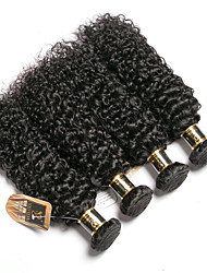 cheap -6 Bundles Brazilian Hair Kinky Curly 100% Remy Hair Weave Bundles Natural Color Hair Weaves / Hair Bulk Bundle Hair One Pack Solution 8-28 inch Natural Color Human Hair Weaves Odor Free Easy dressing