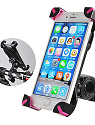 cheap -ROCKBROS Bike Phone Mount Anti-Slip Anti-Shake / Damping 360°Rolling / Rotatable for Road Bike Mountain Bike MTB BMX PVC iPhone X iPhone XS iPhone XR Cycling Bicycle Black Pink 1 pcs