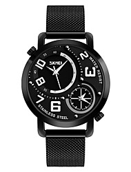 cheap -SKMEI®9168 Men Women Smartwatch Android iOS WIFI Waterproof Sports Long Standby Smart Dual Time Zones