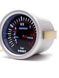 cheap -52mm Car Turbo Boost/PSI/Water Oil Temp/Pressure/Tachometer/Volt/Vacuum Gauge