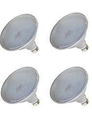 cheap -4pcs 15 W LED Spotlight 1000-1200 lm E26 / E27 75 LED Beads SMD 2835 Waterproof Warm White White 110-240 V