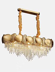 cheap -QIHengZhaoMing 9-Light 32 cm Chandelier Crystal Painted Finishes Traditional / Classic 110-120V / 220-240V